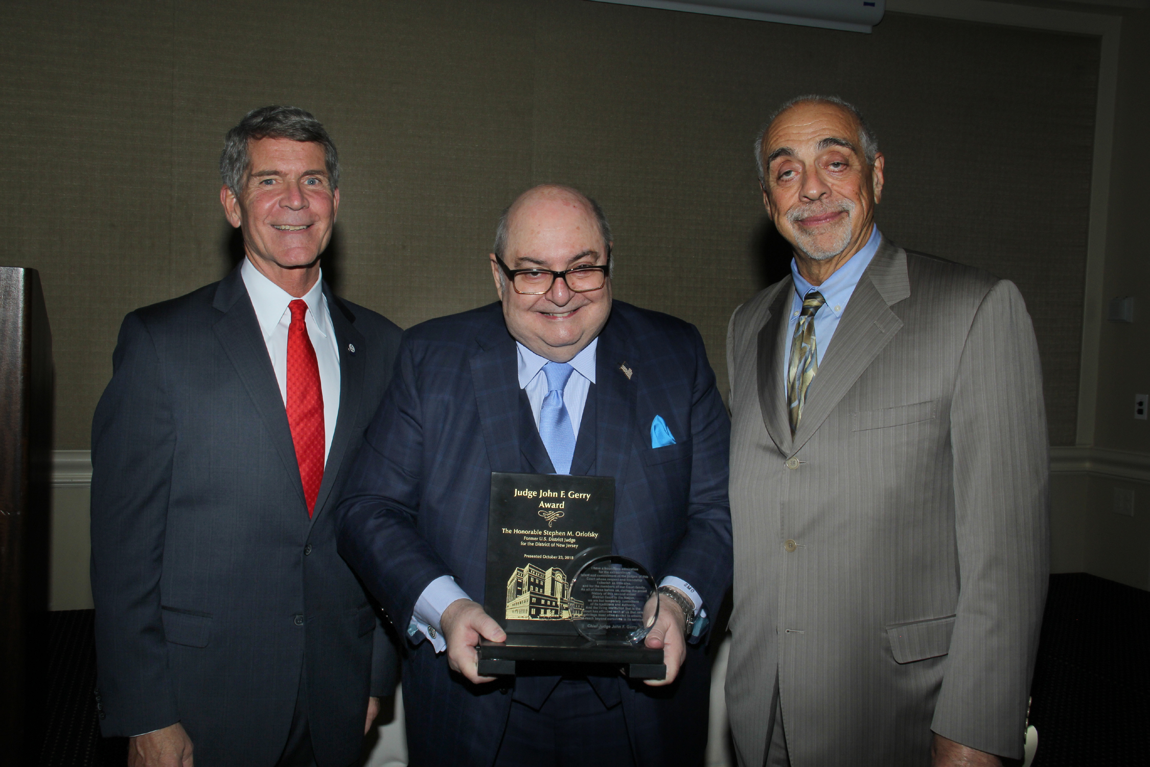Orlofsky Receives Award