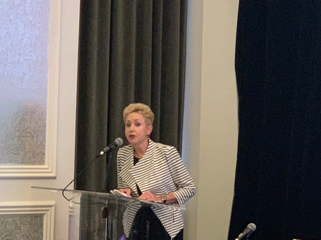 Peg Hill speaks at Blank Rome Pittsburgh Energy Industry Update 2018