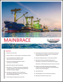 Current Issue of Mainbrace