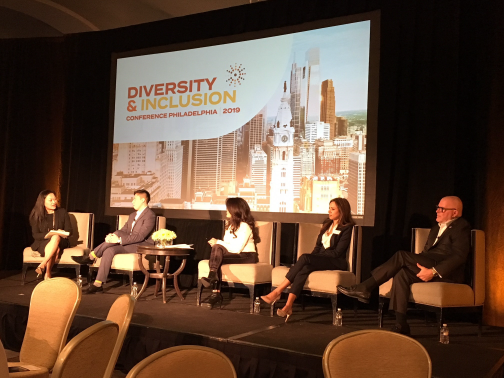 Sophia Lee on CEO Roundtable at 2019 Diversity & Inclusion Conference Philadelphia Mar 26 2019