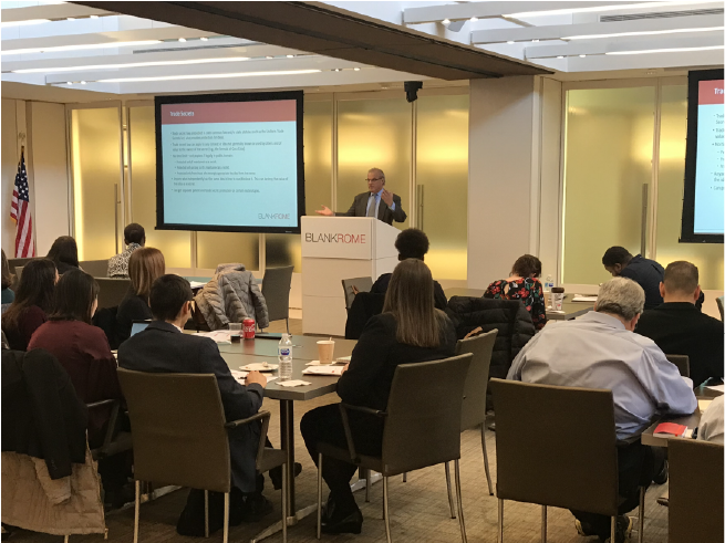 Jon Grossman speaks at D.C. Bar Pro Bono Center Small Business Legal Issues Training