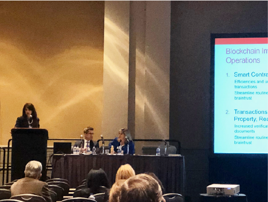 Stephanie Chomentowski speaks at ACC Greater Philadelphia In-House Counsel Conference April 24 2019