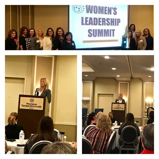 Michelle Gervais at Tampa Women's Leadership Summit 101819