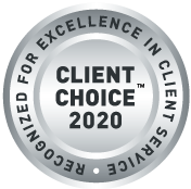 2020 Client Choice Awards Badge