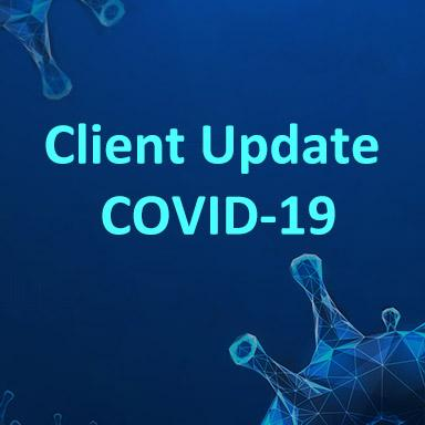 COVID-19 Client Update Image