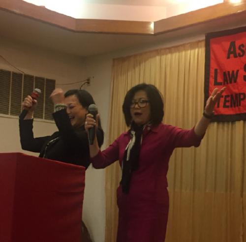 Sophia Lee at 2019 Temple APALSA Lunar Banquet