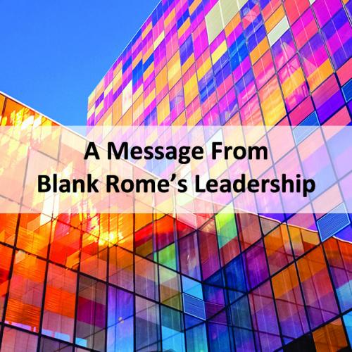 Leadership Message - June 2020