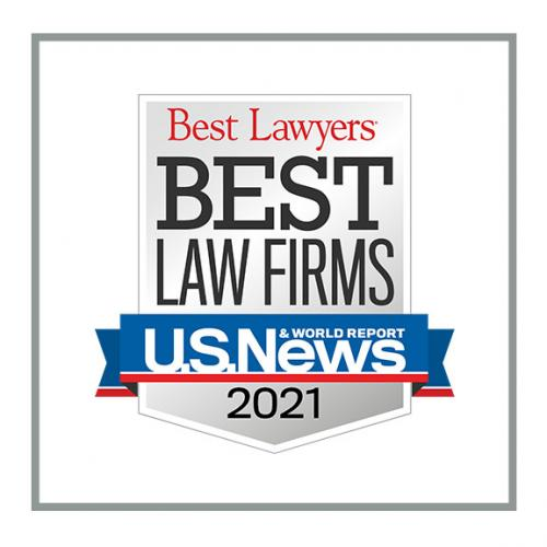 U.S. News - Best Lawyers - Best Law Firms Logo